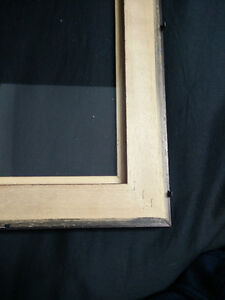 Glossy mahogany wood picture/certificate frames