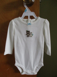 Long Sleeved 6 months onesie