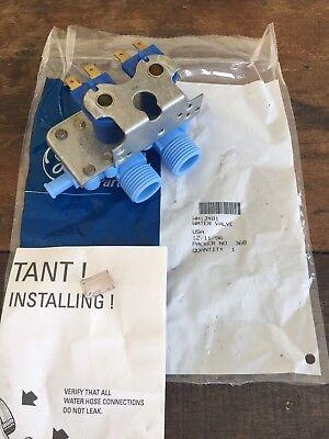 Genuine OEM GE Water Inlet Valve Part# WH13X81, AP2618763 (USA Seller) ()