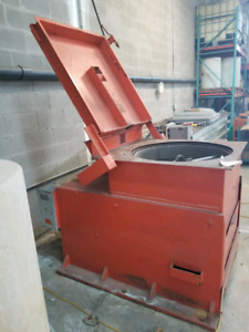 Industrial spin dryer