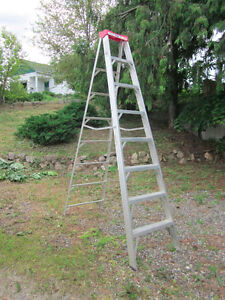 "8-ft. Step Ladder – ""Lite"" Aluminum Step Ladder"