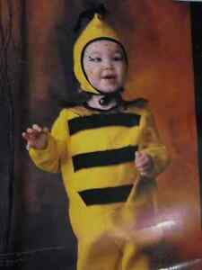 NEW HALLOWEEN BUMBLE BEE COSTUME