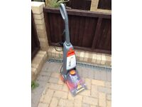 Vax carpet cleaning hoover