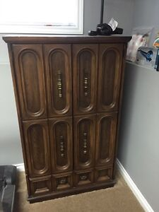 Very old armoire