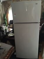 Inglis fridge and Frigidaire stove in excellent condition