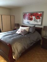 2 bedroom all included pool, int parking one month free