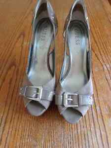 Guess Heels Brown