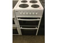 Beko white Electric Cooker with separate grill