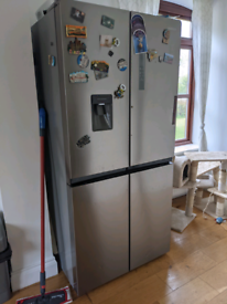 Kenwood double American fridge freezer