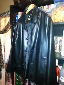 Brand New XL Leather Coat