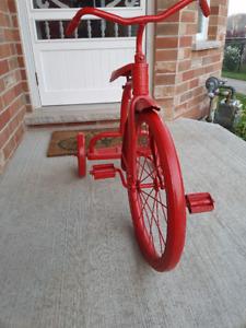 Cute Red Trike That Works!