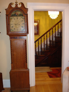 Antique American Grandfather Clock-Warranty, Delivery,SetUp