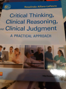 Critical Thinking Clinical ReasoningClinical Judgment