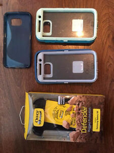 Samsung Galaxy S6 Otterbox and gel cover