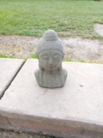 Stone thai buddha head orniment
