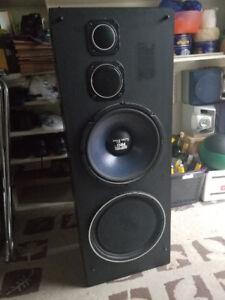 PA system ( Amp and speakers)