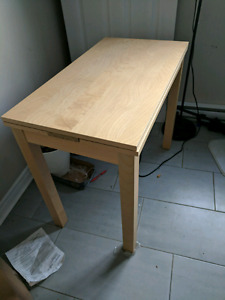BJURSTA  ikea extendable table