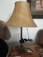 Cowboy themed lamps