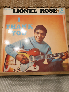 LIONEL ROSE I THANK YOU RECORD