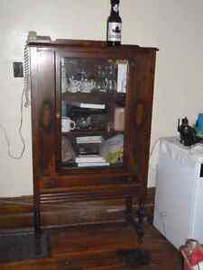 China Hutch Cabinet Older Peterborough Peterborough Area image 1