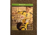 Fifa 17 for Xbox 1 download code one item.