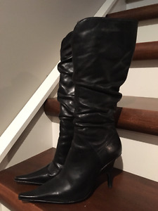 "Leather ""Sandler"" brand Boots (S 7.5)"
