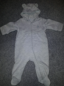 3-6 months old Winter babysuit