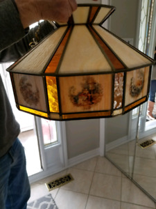 Vintage handmade lamp