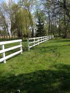 Fencing/ Post Pounding/ Excavating Services
