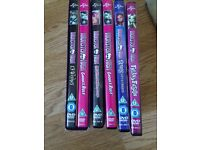 Collection of monster high DVD's