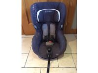 Maxi Cosi Axiss swivel car seat Confetti group 1 ages 9 months - 4 years old