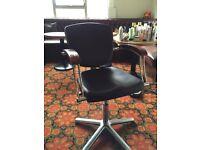 Salon hairdressing chair
