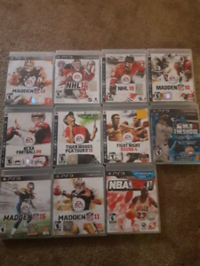 16 Games for Ps3