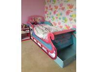 Frozen toddler sleigh bed