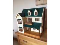 Sylvanian Families House plus furniture and accessories