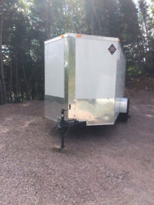 2017, 16 ft enclosed utility trailer