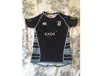 Age 8 Blues RFC club rugby shirt