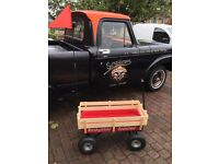 Radio Flyer Festival Trolley All Terrain Camping Glamping Auto Jumble Car Boot Man Cave AS NEW