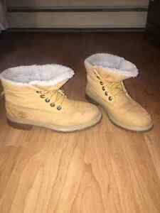 Timberlands for sale size 8. $40 OBO