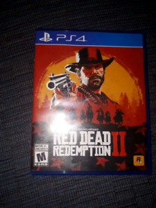 Red Dead part 2 4 ps4