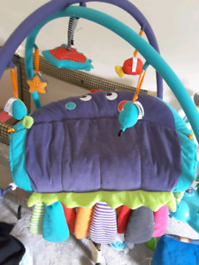 Play mat, chair and swing