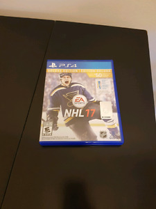 $20 NHL 17 for PS4