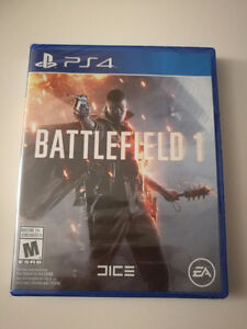 Sealed Sony PS4 EA Battlefield 1 / BF1 Brand New In Box