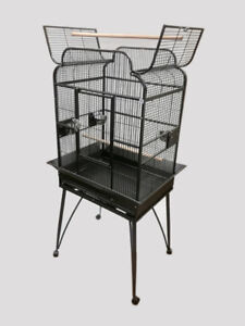 """26x20"""" Victorian Style Parrot Bird Cage with Open Top"""