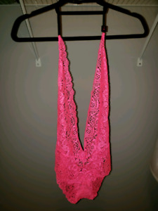 Never used lingerie.  Size small