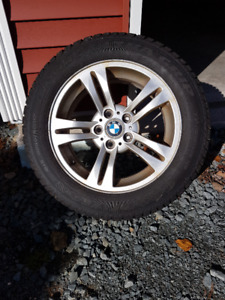 Winter Tires and Rims - BMW X3 (E83)