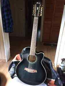 Beautiful V series Ibanez 12 string Acoustic