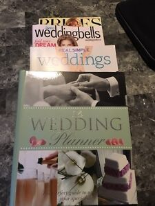 Wedding planner and magazines