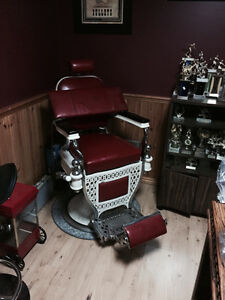 2 GREAT condition Theo A Kochs Barber Chairs Kawartha Lakes Peterborough Area image 1