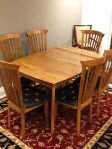 Birch table and chairs buy or sell dining table sets in toronto gta kijiji classifieds - Dining room table toronto ...